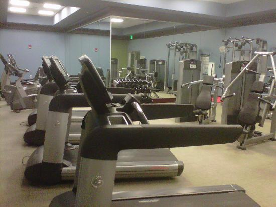 Renaissance Montgomery Hotel & Spa at the Convention Center : Gym