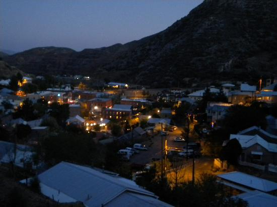 The Sleepy Dog Guest House: Twilight in Bisbee is a beautiful time.