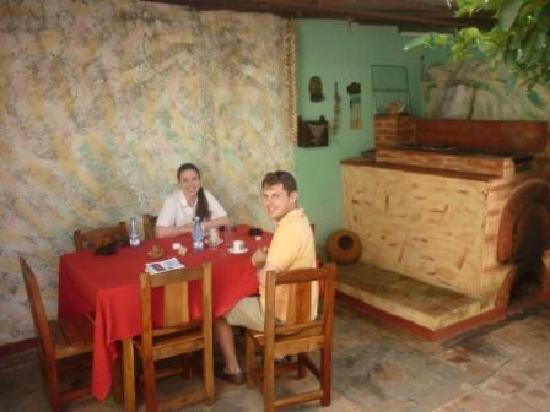 Casa OsmaryAlberto: En la parrillada