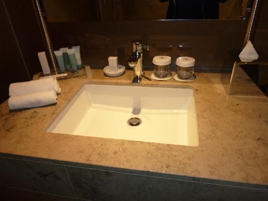 Hilton The Hague: Bathroom amenities