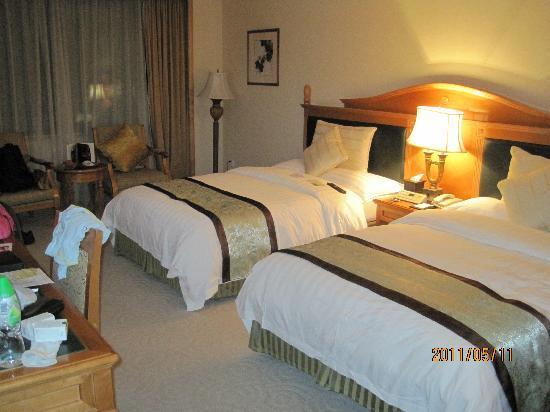 Grand Noble Hotel: 落ち着く部屋ですよ