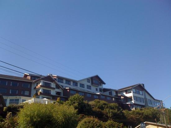 Hotel Cabana del Lago: vista de las habitaciones frente al lago