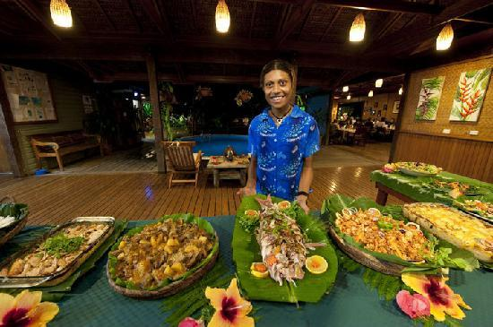 Walindi Plantation Resort: Delicious food!