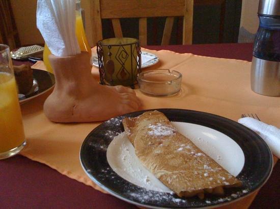 Hotel Cabana del Lago : pancket de manzana con Caña Paraguaya *recomendado