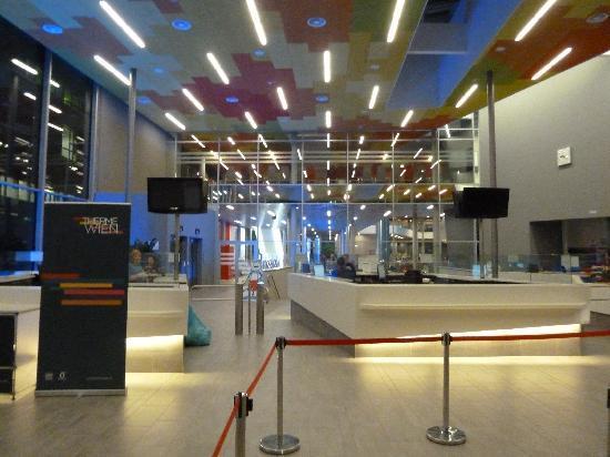 Therme Wien: Eingangsbereich