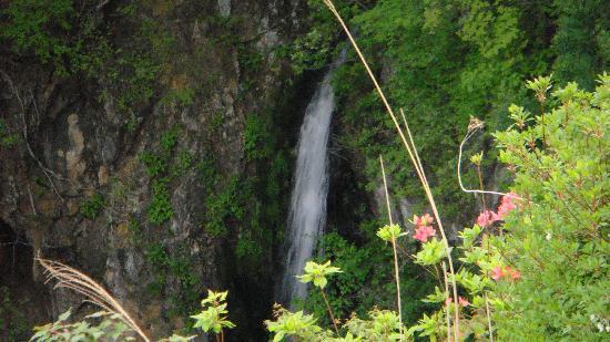 Kinugawa Fudotaki: 肝心な瀧の眺めはいまいち無理して撮影しました!