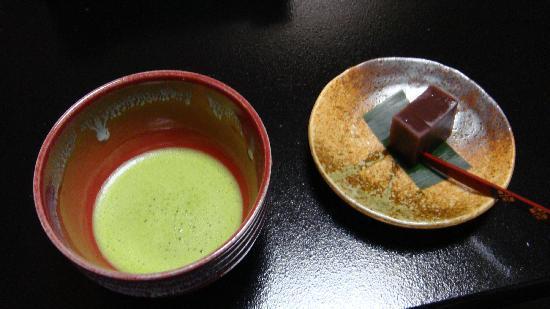 Kinugawa Fudotaki: 抹茶をたててくれますよ