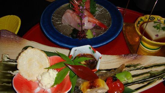 Kinugawa Fudotaki: 夕食もまずまず
