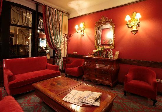 Hotel de Seine: Salon de l'hôtel