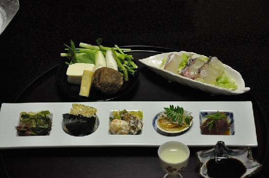 Miyukiso Hanamusubi: Starter of fabulous dinner.