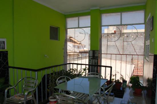 RosyMar Inn : offener erst vor kurzem umgebauter Bereich im 1.Stock