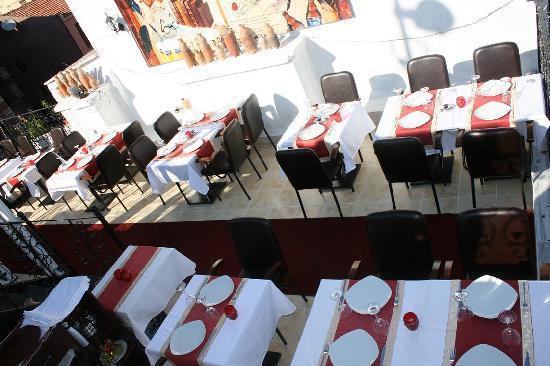 Oceans 7  Restaurant: terace