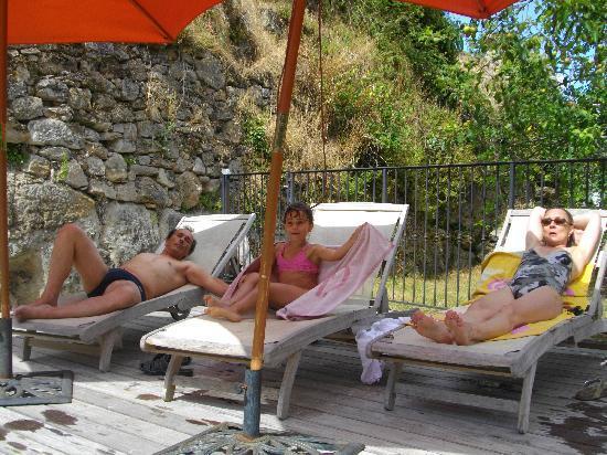Chateau de Montalegre: relax