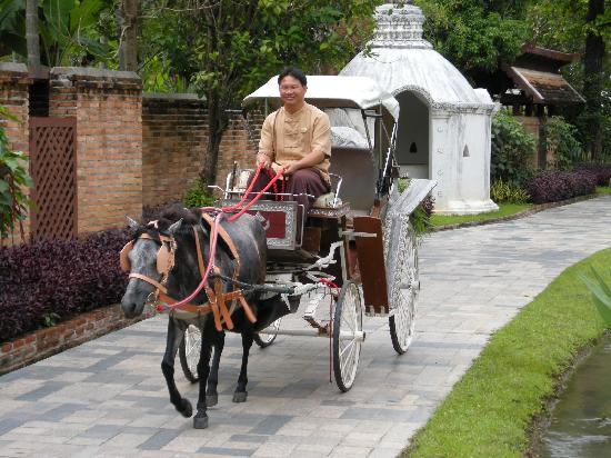 The Dhara Dhevi Chiang Mai: Hoteltaxi