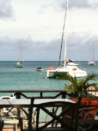 Tamarind Beach Hotel & Yacht Club: view from the restaurant