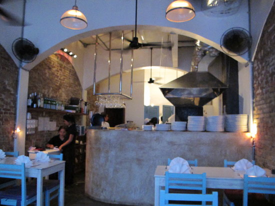 il forno: Restaurant with wood oven