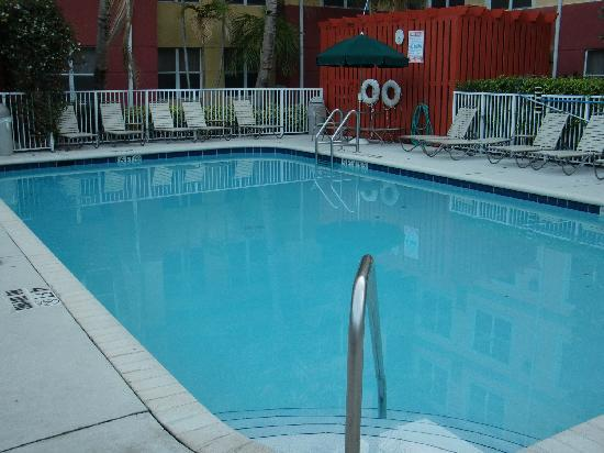 Residence Inn Fort Lauderdale Plantation : the pool