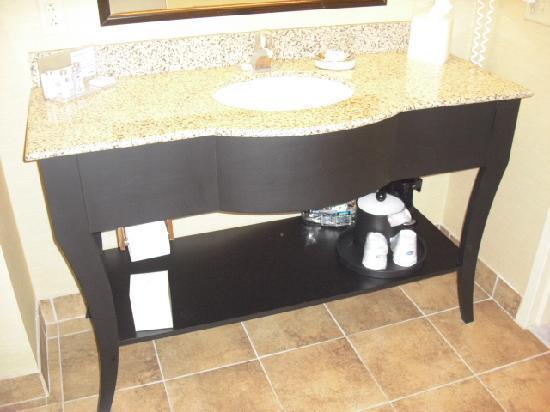 Hampton Inn & Suites Warren: Vanity