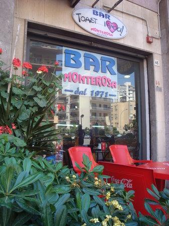 Bar Monterosa : INSEGNA