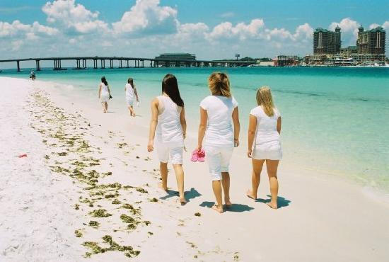 Destin, Floryda: Near the jetties