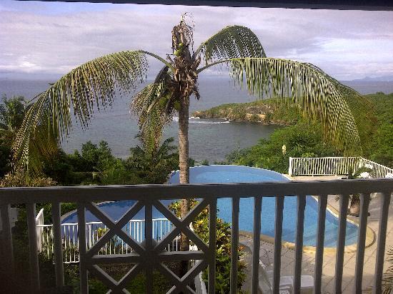Hotel Amaudo: Vue d'un balcon
