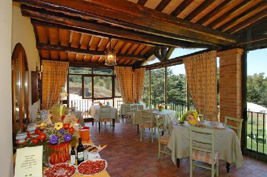 Hotel la Fonte del Cerro Saturnia: Colazione Albergo la Fonte dl Cerro - Saturnia - Maremma Toscana - Italia