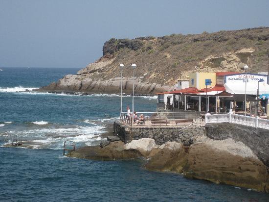 Playa de Fanabe, Spanien: caletta