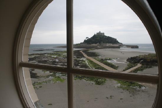 Godolphin Arms: view from our room