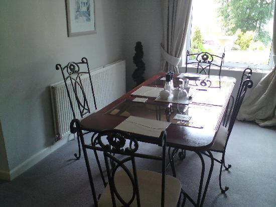 Spinneycross: Breakfast room