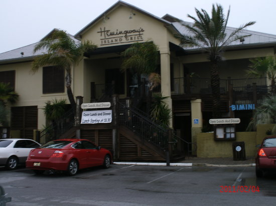 Hemingway S Island Grill Pensacola Beach Menu Prices Restaurant Reviews Tripadvisor