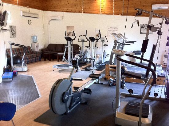 Bucks Farm Holiday Cottages: The gym
