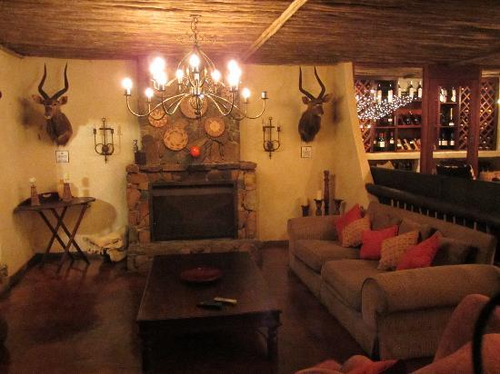 Bayete Zulu Boutique Lodge: Lounge Bayete Zulu
