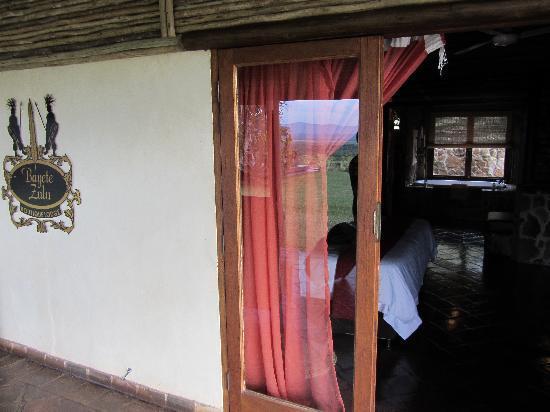 Bayete Zulu Boutique Lodge: Bayete Zulu unser Zimmer