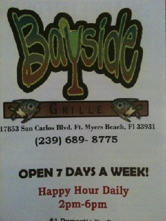Bayside Sports Bar and Grille : Bayside Grille