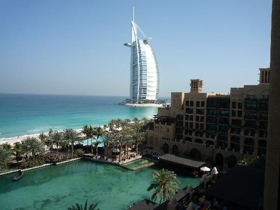 Jumeirah Mina A'Salam: View from the room of the Burj