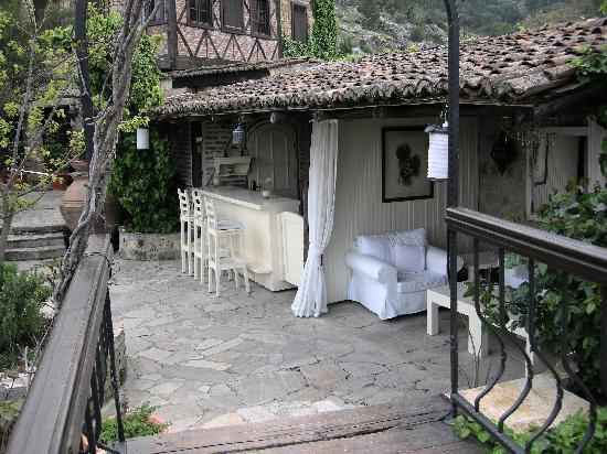 terrace hotel Manici Kasri