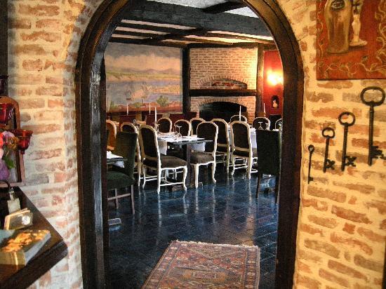 Manici Kasri: hotel's restaurant