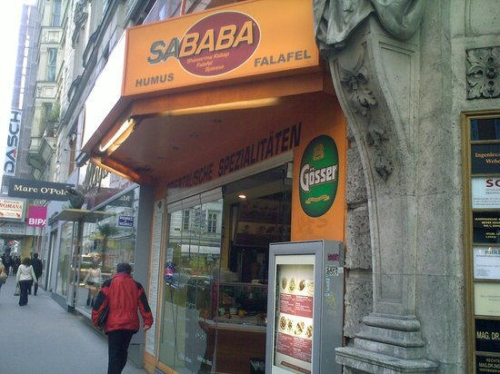 Photo of Mediterranean Restaurant Sababa at Rotenturmstrasse 19, Vienna 1010, Austria