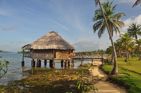 Yandup Island Lodge: Typical hut on the island