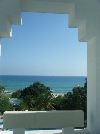 Sol Azur Beach Hotel: View from our Hotel - Oct 2010