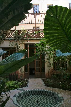 Riad Souafine : Garden at the Jnane