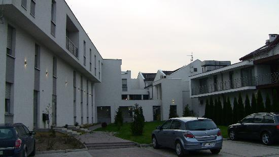 Hotel Jasek: View from behind the hotel