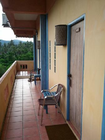 Ao Chalong Villa & Spa: Room Entrance