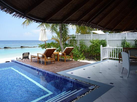Centara Grand Island Resort & Spa Maldives: View from villa
