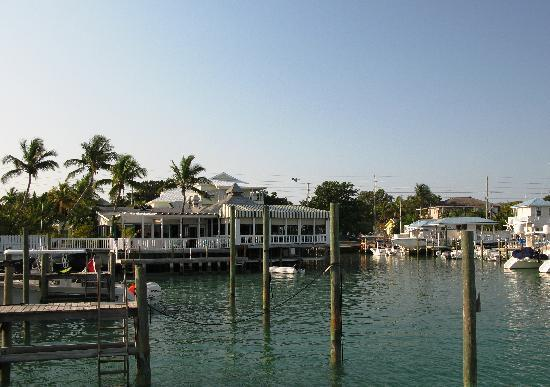 Lofty Fig Villas : Across the street - Yacht Club and Bars - quite by 10pm