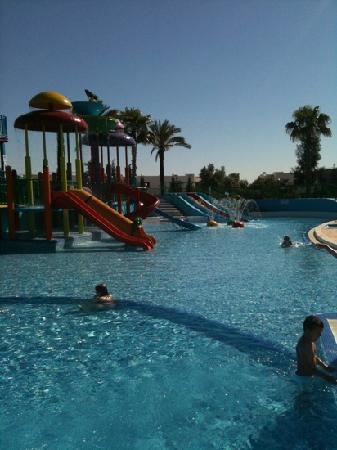 Alto da Colina Aparthotel: nice kids splash park
