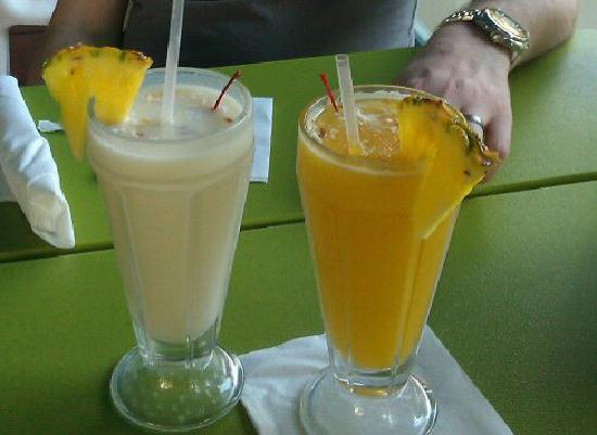 Drinks at Pina Colada Club