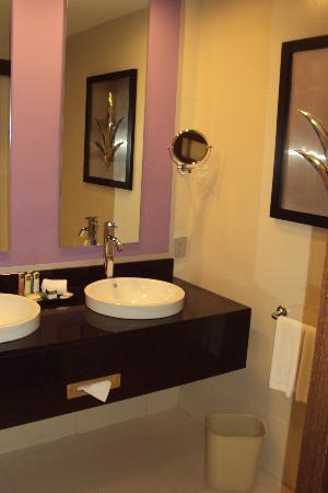 Hotel Riu Plaza Panama: Bellisima sala de bano