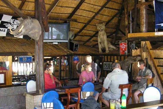 Warthogs Bush Camp : Pub