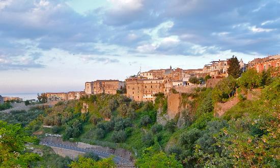 Rossano, La Terrazza is upper centre of photo
